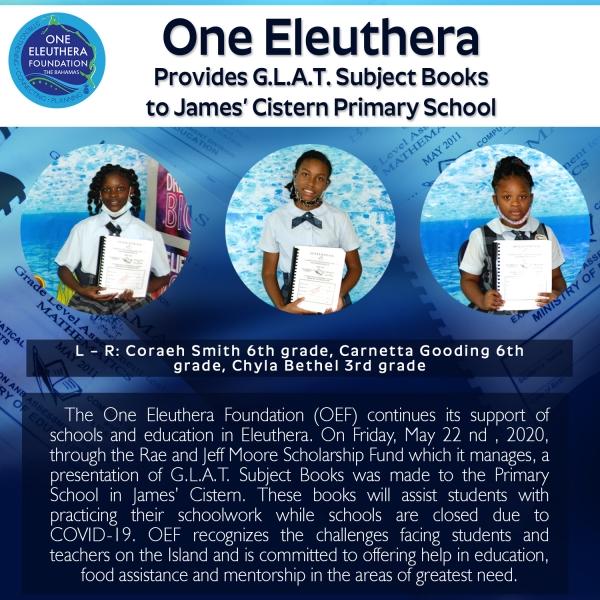 OEF Provides Books to James Cistern Primary