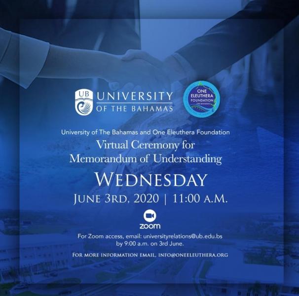OEF and UB Memorandum of Understanding Ceremony