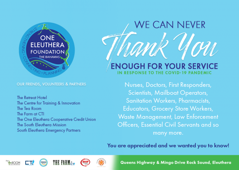 You are appreciated and we wanted you to know!