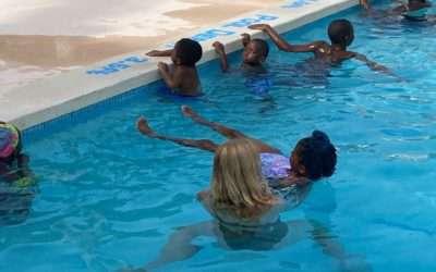OEF Swimming Program: A Splashing Success!