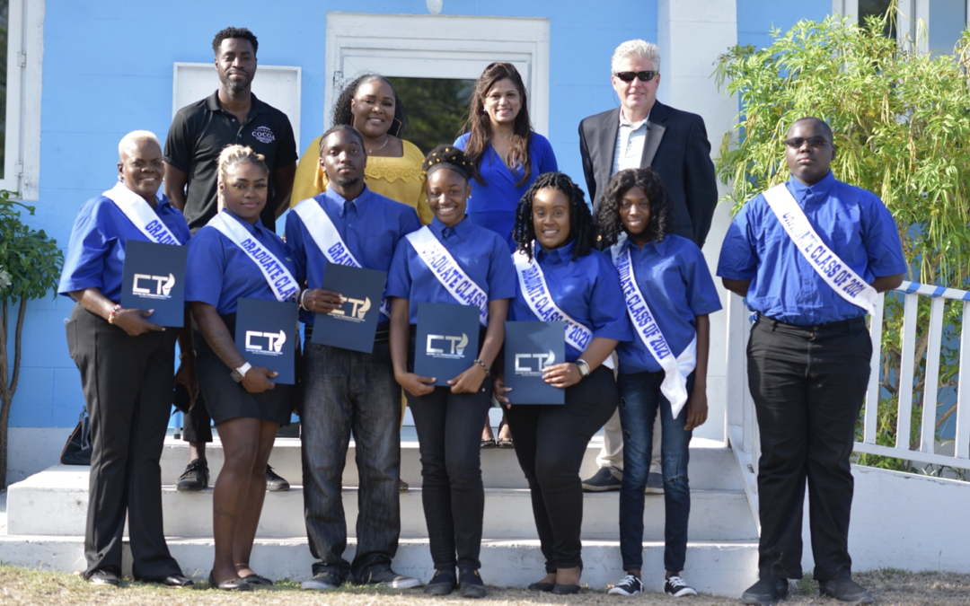 CTI-HITS graduates 42 students as OEF continues high-demand technical programs in Eleuthera.